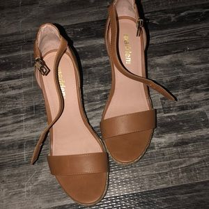 Madden NYC wedges. Size 8. Like new. Worn once!